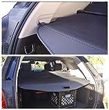 Cosilee Trunk Cargo Cover For Chevy Chevrolet Equinox GMC Terrain 2010-2017 Retractable Rear Trunk Cargo Luggage Security Shade Cover