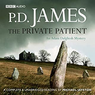 The Private Patient audiobook cover art