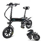 Phaewo Bicicletta elettrica Pieghevole, Fiido D1 Ebike 10,4 Ah Batteria agli ioni di Litio...