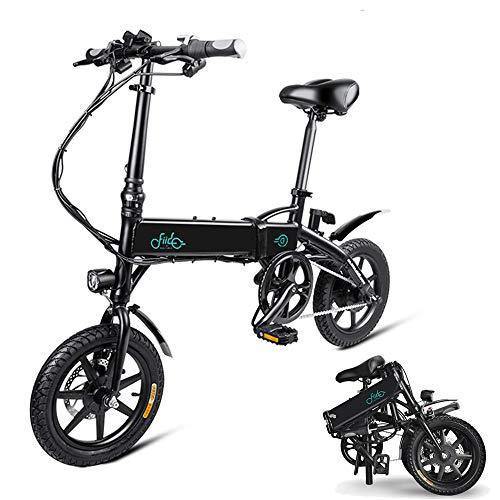 Phaewo Bicicletta elettrica Pieghevole, Fiido D1 Ebike 10,4 Ah Batteria agli ioni di Litio 250 W Tre...