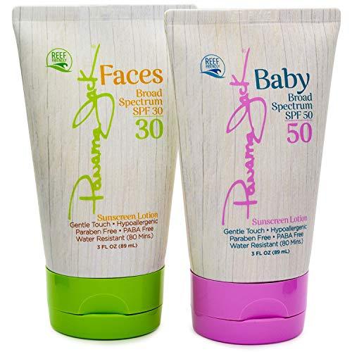 Panama Jack Face Broad Spectrum Sunscreen Lotion, SPF 30, 3 fl oz