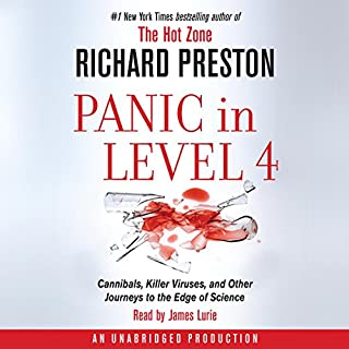Panic in Level 4 audiobook cover art