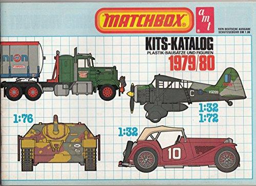 Matchbox. Kits-Katalog. Plastik-Bausätze und Figuren. 1979 / 80.