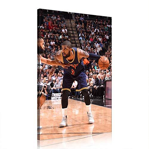 Kyrie Irving Canvas Prints Poster NBA Basketball Player Opera Home Decor (Prints-24,60x90cm)