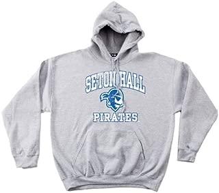 NCAA Seton Hall Pirates 50/50 Blended 8-Ounce Vintage Mascot Hooded Sweatshirt
