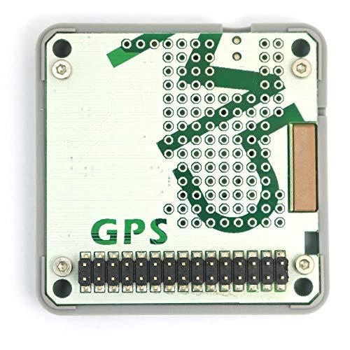 ARCELI Modulo GPS M5Stack ESP32 Modulo GPS Neo M8N integrato con interfaccia MCX e Antenna GPS Incluso, IoT impilabile per ESP32