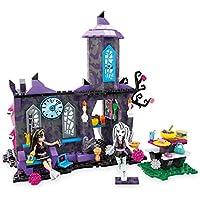 Mattel Mega Bloks DKT 93 - Juguete de construcción, Monster High Monster Estudiantes Cafetería