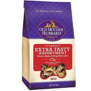 Old Mother Hubbard Crunchy Classic Natural Dog Treats, Extra Tasty, Mini Biscuits, 20 Oz – 2 PACK