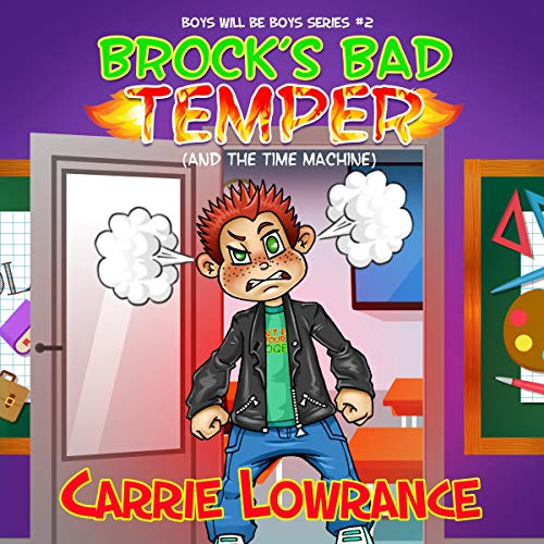 Brock's Bad Temper (and the Time Machine) audiobook cover art