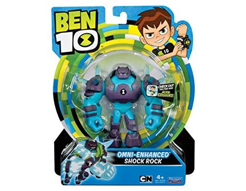 Ben 10 BEN30100 Action Figure di Shock Rock