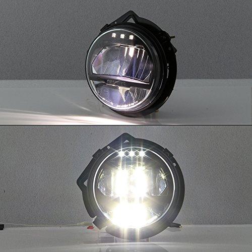 For Mercedes Benz W463 G-Class G-Wagon Black Bezel Full LED Headlight Lamp Assembly