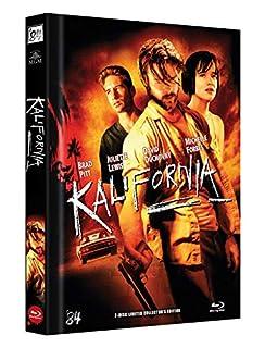 Kalifornia - Mediabook Cover D - Uncut - Limitiert auf 100 Stück - Kratzfeste Mattfolie (+ DVD) [Blu-ray]
