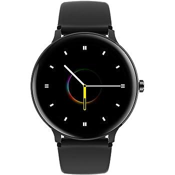 Blackview Smartwatch, Reloj Inteligente Mujer Hombre - Monitor de Sueño, Pulsómetro, Podómetro, Notificación Inteligente, Impermeable 5ATM, Pulsera Actividad Inteligente Compatible con Android y iOS