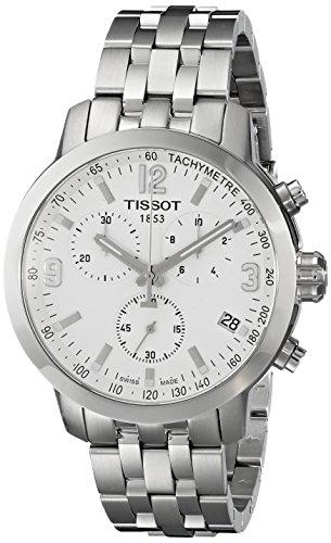 Tissot T0554171101700 PRC 200 - Orologio da uomo in acciaio INOX color argento