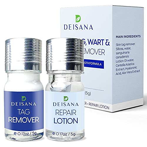 Skin Tag Removal Treatment-Skin Tag Remover-Made of Natural Plant...
