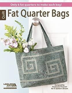 Fat Quarter Bags: Only 6 Fat Quarters to Make Each Bag!