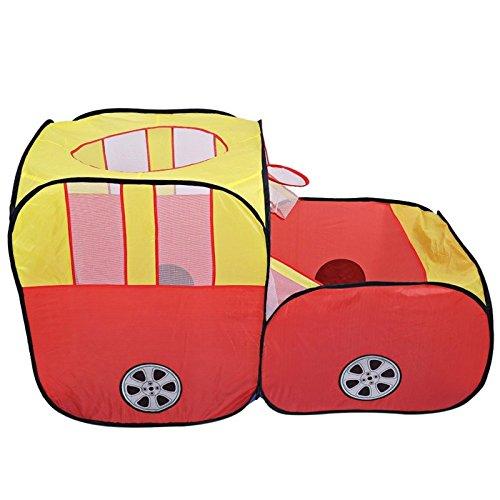 Cosanter Kinderspielzelt Beweglicher Kinder Baby Bällebad Ball Kinder Spielzeug Spiel Zelt Super großes Auto Modell Spiel Haus für Drinnen und Draußen