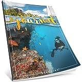 Dékokind® 3 Jahres Journal: Ca. A4-Format, 190+ Seiten, Vintage Softcover • Dicker Jahresplaner, Tagebuchkalender, Buchkalender, Tagesplaner • ArtNr. 34 Karibik • Ideal als Geschenk
