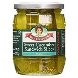 Mrs Elswood - Sweet Cucumber Sandwich Slices Pickled - 670g