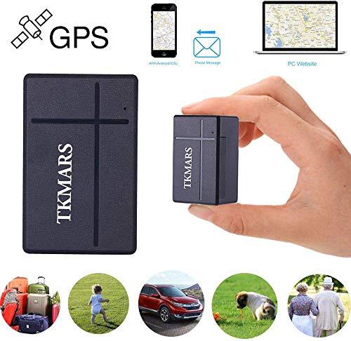 Mini-GPS-tracker, real-time lokalisatie, elektronische omheining, historische route, draagbare GPS-locatie, voor portemonnee, kindertassen, belangrijke documenten, car lost vinder met app TKSTAR903A