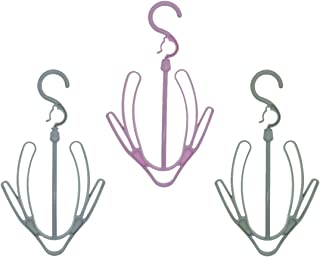 Shoe Rack,Shoes Hanger, Shoes Drying Rack,Shoes Drying Hanger,Travel Shoe Rack,3 Pcs Shoe Racks, Plastic Shoe Racks, Multi-Purpose Hangers for Shoes, Belt Racks and tie Racks