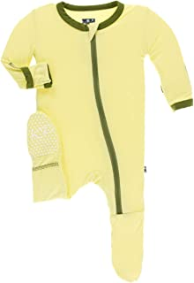 478f981bf4 Amazon.com  Yellows - Footies   Rompers   Clothing  Clothing
