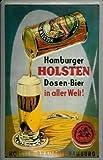 Hamburger Holsten Dosen - Bier Blechschild 20 x 30 cm