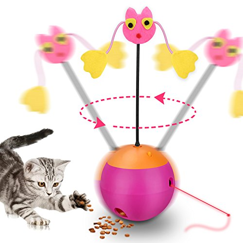Yofun Interactive Laser Cat Toy, 3 in 1