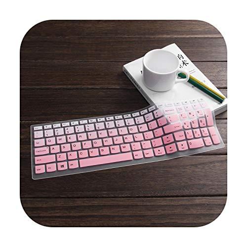 Laptop-toetsenbord bescherming voor Lenovo Ideapad 310 15/510 15/110 15 17 laptop nieuw 15 inch gradualpink