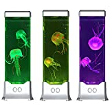 Modern Jellyfish Table Lamp with Color Changing Light Effects A Sensory Synthetic Mood Table Lamp for Bedroom Living Room Best Gift
