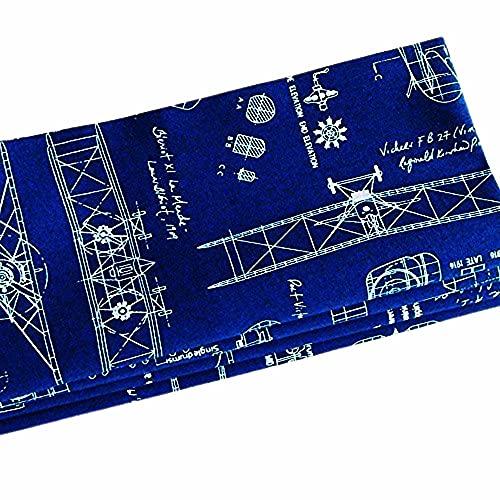 Handmade Antique Airplane Blueprints Napkins (Set of 4-100% Cotton) ME2 Designs Table Décor