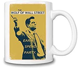 Wall Street Featuring Suited Man Design Kaffeetasse
