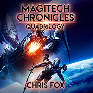 The Magitech Chronicles Quadrilogy     Magitech Chronicles, Books 1-4              By:                                                                                                                                 Chris Fox                               Narrated by:                                                                                                                                 Ryan Kennard Burke                      Length: 34 hrs and 38 mins     23 ratings     Overall 4.3