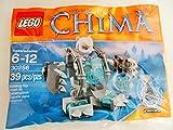 LEGO Chima 30256 Iceklaw Oso - 39 teilges Kit de Juego en Poly Bolsa