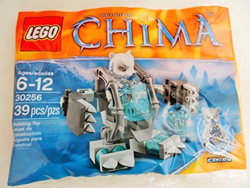 Lego Chima 30256 Iceklaw Orso - 39 teilges Set giochi in Polybeutel