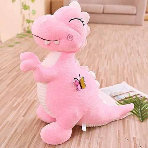 Cartoon Vlinder Dinosaurus Knuffel, Sofa Kussen Kussen Kinderen Speelgoed, Vriendin Verjaardagscadeau Woondecoratie 30Cm (Roze)
