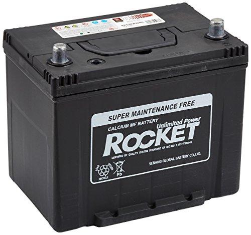 Rocket BAT080RANBL Starterbatterie, 12V 80Ah 630A B1