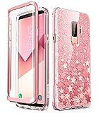 i-Blason Hülle für Samsung Galaxy S9 Plus Glitzer 360