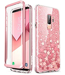 Samsung Galaxy S9 Plus Case, [Built-in Screen Protector] i-Blason [Cosmo] Full-Body Glitter Clear Bumper Case for Galaxy S9 Plus (2018 Release) (Pink) (B07HNSRWC3) | Amazon price tracker / tracking, Amazon price history charts, Amazon price watches, Amazon price drop alerts