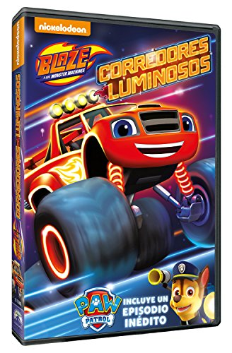 Blaze And The Monster Machines 8: Corredores Luminosos [DVD]