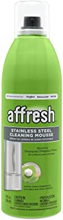 affresh W11042466M2 Cleaning Mousse 2 Pack Stainless Steel Cleaner