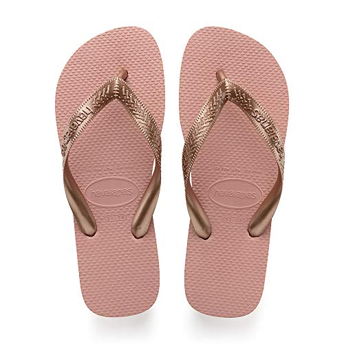 Havaianas Top Strips, Flip Flops for Women, Gold (Rose Nude), 39 / 40 EU