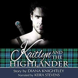 Kaitlyn and the Highlander audiobook cover art