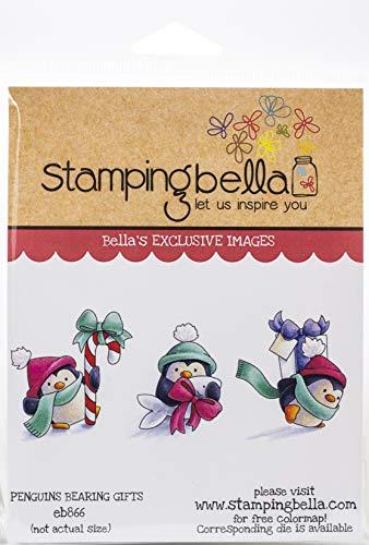 STAMPING BELLA Stamp Peng, Penguins Bearing Gifts