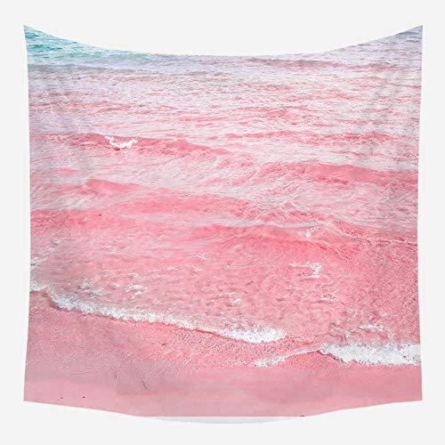 Rkmaster-Wandtapijt, boerenhuis, decoratie, roze, strandlaken, wandtapijt, polyester, yogamat, tapijt aan de muur, westerse decoratie in huis