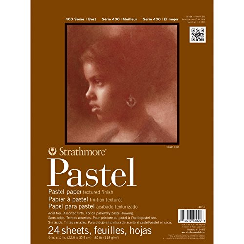 "Strathmore 400 Series Pastel Pad, Assorted Colors, 9""x12"