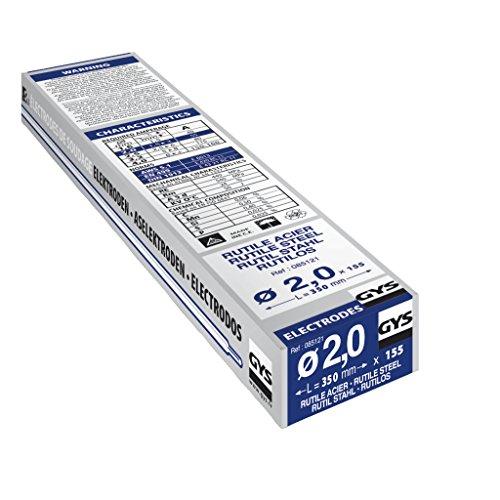 GYS 085121 Rutile Elektroden Stahl, 155 Stück