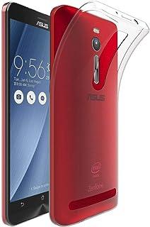 ebestStar - Funda Compatible con ASUS ZenFone 2 ZE551ML Carcasa Silicona, Protección Crystal Clear TPU Gel, Ultra Slim Case, Transparente [Aparato: 152.5 x 77.2 x 10.9mm, 5.5'']