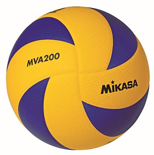 MIKASA MVA 200 DVV Volleyball,blau/gelb blau - 5