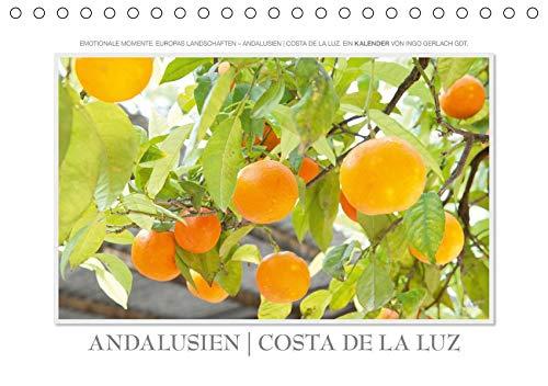 Emotionale Momente: Andalusien  Costa de la Luz / CH-Version (Tischkalender 2020 DIN A5 quer): Europas Landschaften - Andalusien  Costa de la Luz. Ein ... Gerlach GDT. (Monatskalender, 14 Seiten )